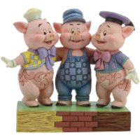 Disney Traditions - Squealing Siblings (Silly Symphony Three Little Pigs Figurine) - Pigs Gifts