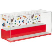 LEGO Play & Display Case - Red