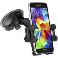 Kit Essentials Car Smartphone Holder Suction Fit - Black
