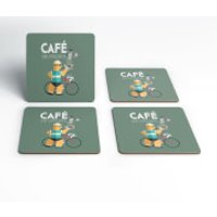 Cafe Du Cycliste Coaster Set