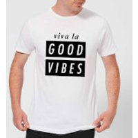 Viva La Good Vibes Men's T-Shirt - White - XL - White