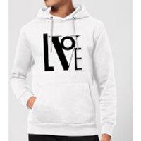 Love Hoodie - White - XXL - White