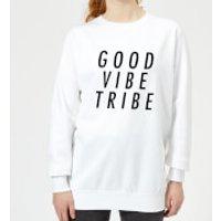 Good Vibe Tribe Women's Sweatshirt - White - 3XL - White