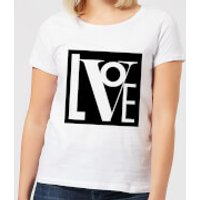Love Women's T-Shirt - White - 4XL - White