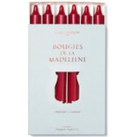 Cire Trudon Bougies De La Madeleine Unscented Dinner Candles - Burgundy (Set of 6)