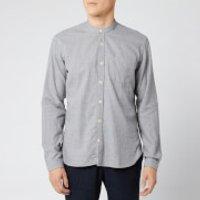 Oliver Spencer Men's Grandad Shirt - Abingdon Grey - S/15