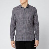 Oliver Spencer Men's Clerkenwell Tab Shirt - Brookland Brown - XL