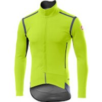Castelli Perfetto RoS Long Sleeve Jacket - M - Yellow Fluo