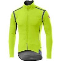 Castelli Perfetto RoS Long Sleeve Jacket - XXL - Yellow Fluo