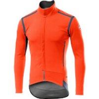 Castelli Perfetto RoS Long Sleeve Jacket - XL - Orange
