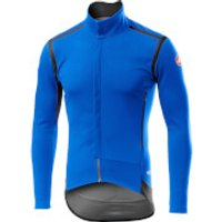 Castelli Perfetto RoS Long Sleeve Jacket - XXXL - Drive Blue