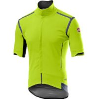 Castelli Perfetto RoS Convertible Jacket - M - Yellow Fluo