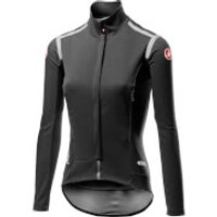 Castelli Women's Perfetto RoS Long Sleeve Jacket - M - Light Black