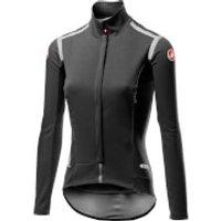 Castelli Women's Perfetto RoS Long Sleeve Jacket - XL - Light Black