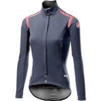 Castelli Women's Perfetto RoS Long Sleeve Jacket - XS - Dark Steel Blue