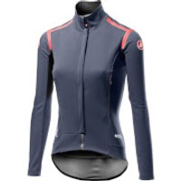 Castelli Women's Perfetto RoS Long Sleeve Jacket - M - Dark Steel Blue