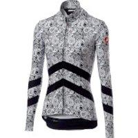 Castelli Women's Goccia Jersey - S - Black/White
