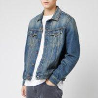 Nudie Jeans Men's Jerry Denim Jacket - Dark Worn - L