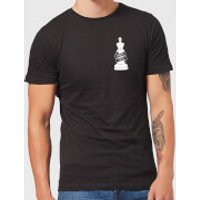 Check Mate Pocket Print Men's T-Shirt - Black - XXL - Black