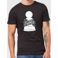 Pawn Chess Piece Men's T-Shirt - Black - L - Black