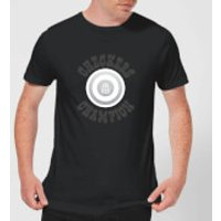 Checkers Champion White Checker Men's T-Shirt - Black - M - Black
