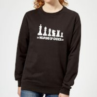 Weapons Of Choice Monochrome Women's Sweatshirt - Black - 5XL - Black - Weapons Gifts