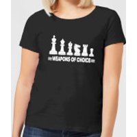Weapons Of Choice Monochrome Women's T-Shirt - Black - 5XL - Black - Weapons Gifts
