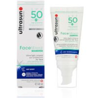 Ultrasun Mineral Face SPF50 Lotion 40ml