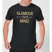 Glamour Is A State Of Mind Men's T-Shirt - Black - XXL - Black - Glamour Gifts