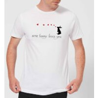 Some Bunny Loves You Men's T-Shirt - White - M - White