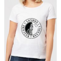 Welcome London England Women's T-Shirt - White - L - White