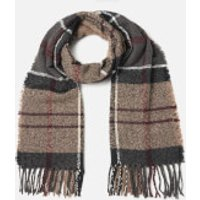 Barbour Womens Tartan Boucle Scarf - Winter Dress