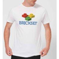 Brickset Logo Men's T-Shirt - White - M - White
