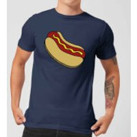 Cooking Hot Dog Men's T-Shirt - S - Navy