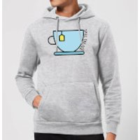 Cooking Spill The Tea Hoodie - M - Grey