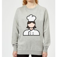 Cooking Cook Women's Sweatshirt - XXL - Grey - Cook Gifts