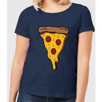 Cooking Pizza Slice Women's T-Shirt - XL - Navy