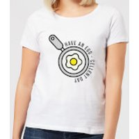 Cooking Have An Egg - Cellent Day Women's T-Shirt - XS - White