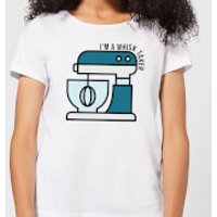 Cooking I'm A Whisk Taker Women's T-Shirt - XXL - White