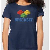 Brickset Logo Women's T-Shirt - Navy - XXL - Navy