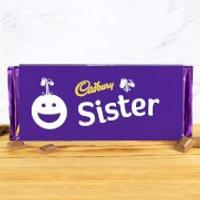 Cadbury Bar 360g - Smiley - Sister