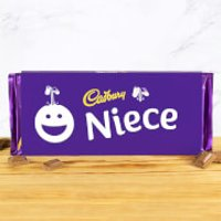 Cadbury Bar 360g - Smiley - Niece - Niece Gifts