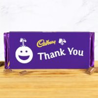 Cadbury Bar 360g - Smiley - Thank You - Cadbury Gifts