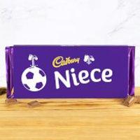 Cadbury Bar 360g - Football - Niece - Niece Gifts