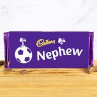 Cadbury Bar 360g - Football - Nephew - Nephew Gifts