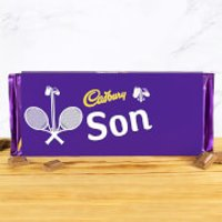 Cadbury Bar 360g - Tennis Racket - Son - Son Gifts
