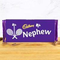 Cadbury Bar 360g - Tennis Racket - Nephew - Nephew Gifts
