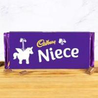 Cadbury Bar 360g - Unicorn - Niece - Niece Gifts
