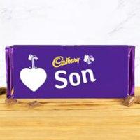 Cadbury Bar 360g - Heart - Son - Son Gifts