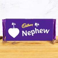 Cadbury Bar 360g - Heart - Nephew - Nephew Gifts
